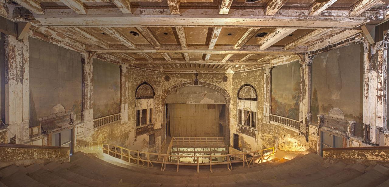 Balcony view of proscenium - c. 2016