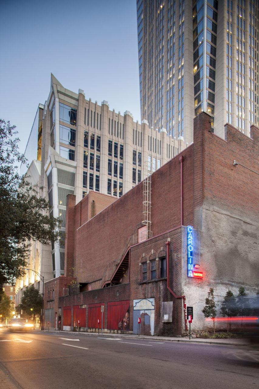 Facade prior to renovation - 6th Street elevation - 2016
