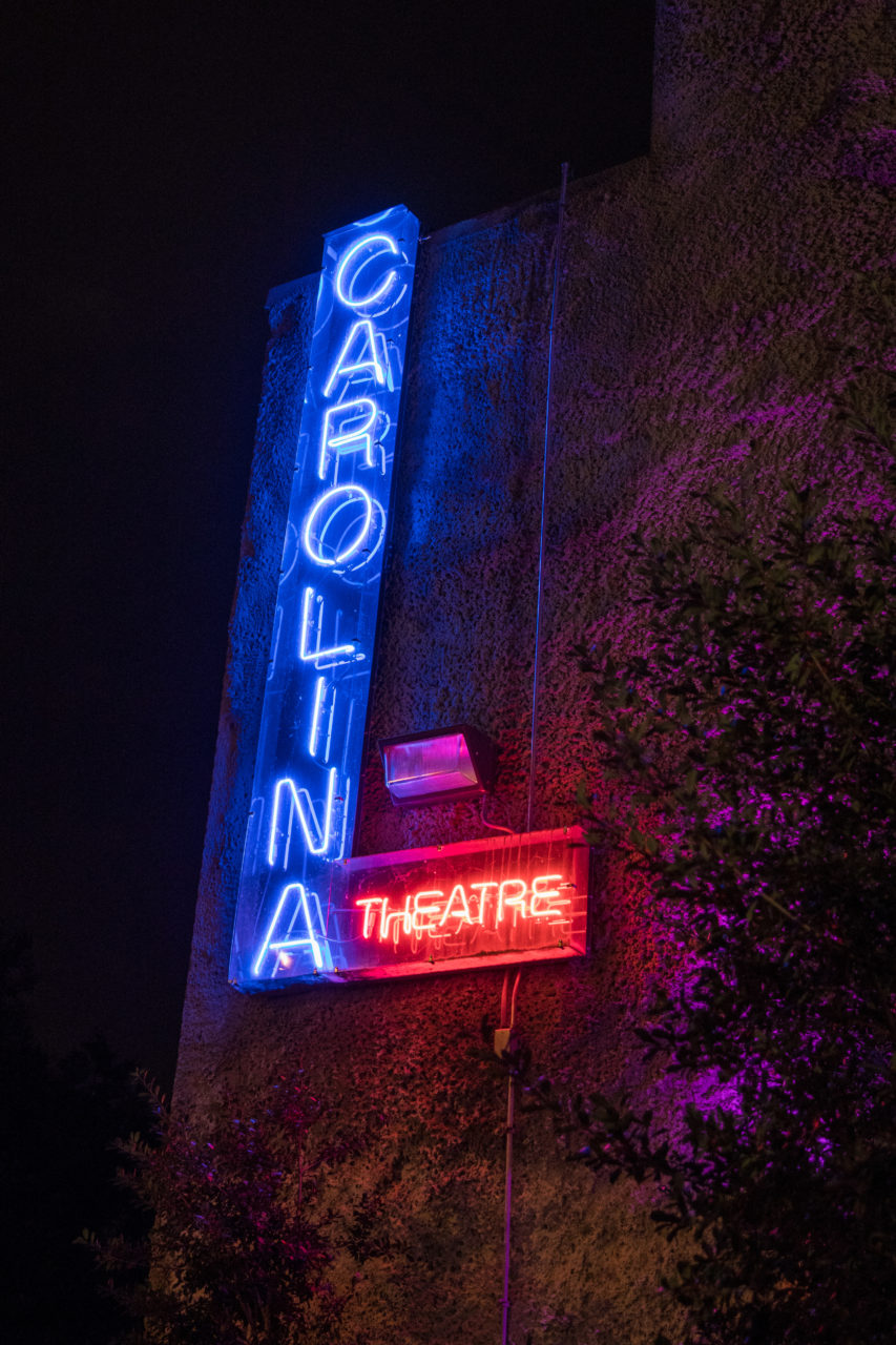 Neon sign now located in FFTC gallery