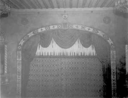 Carolina Theatre Proscenium and Grand Drape - c.1927