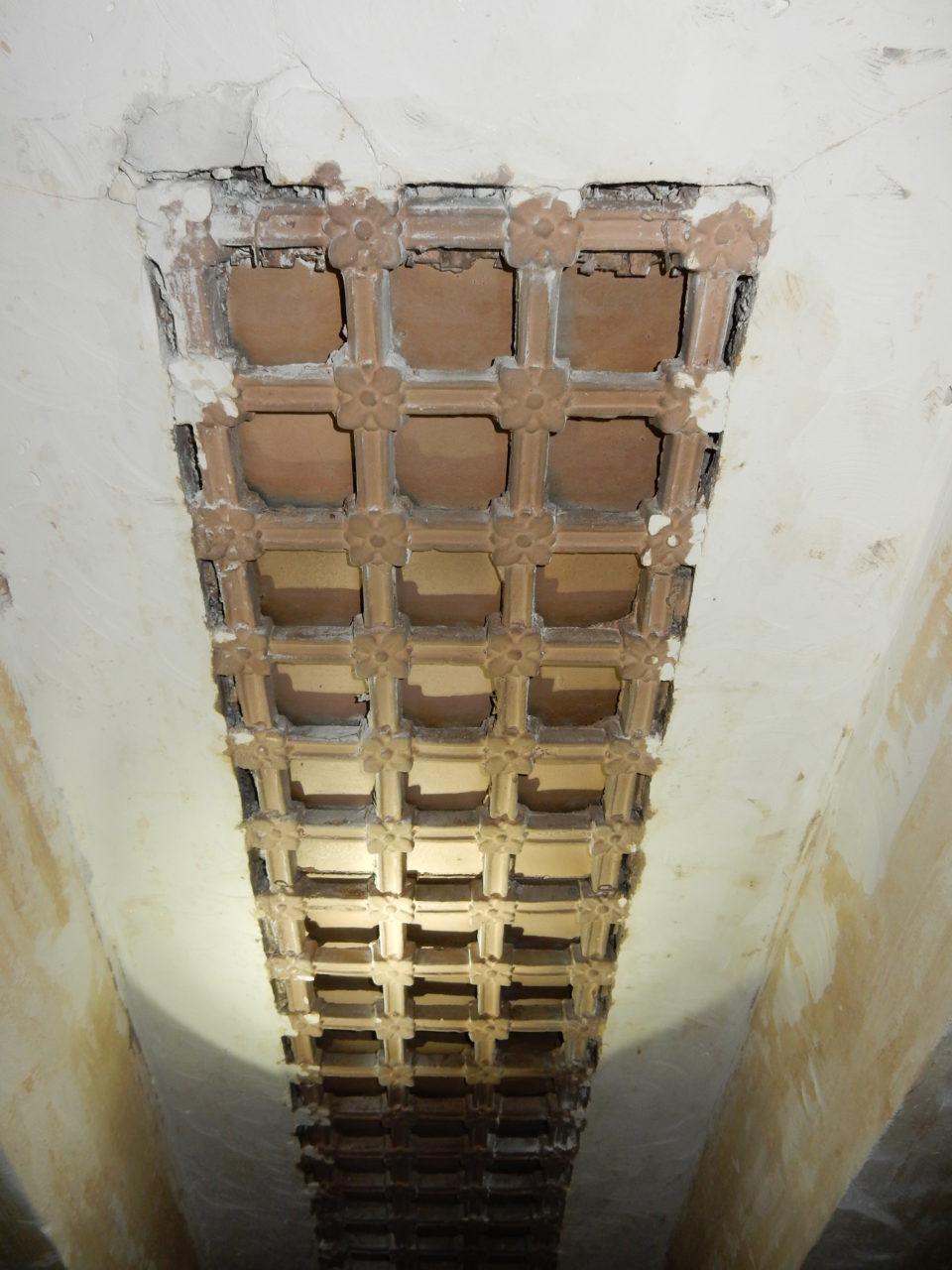 Ceiling HVAC grate