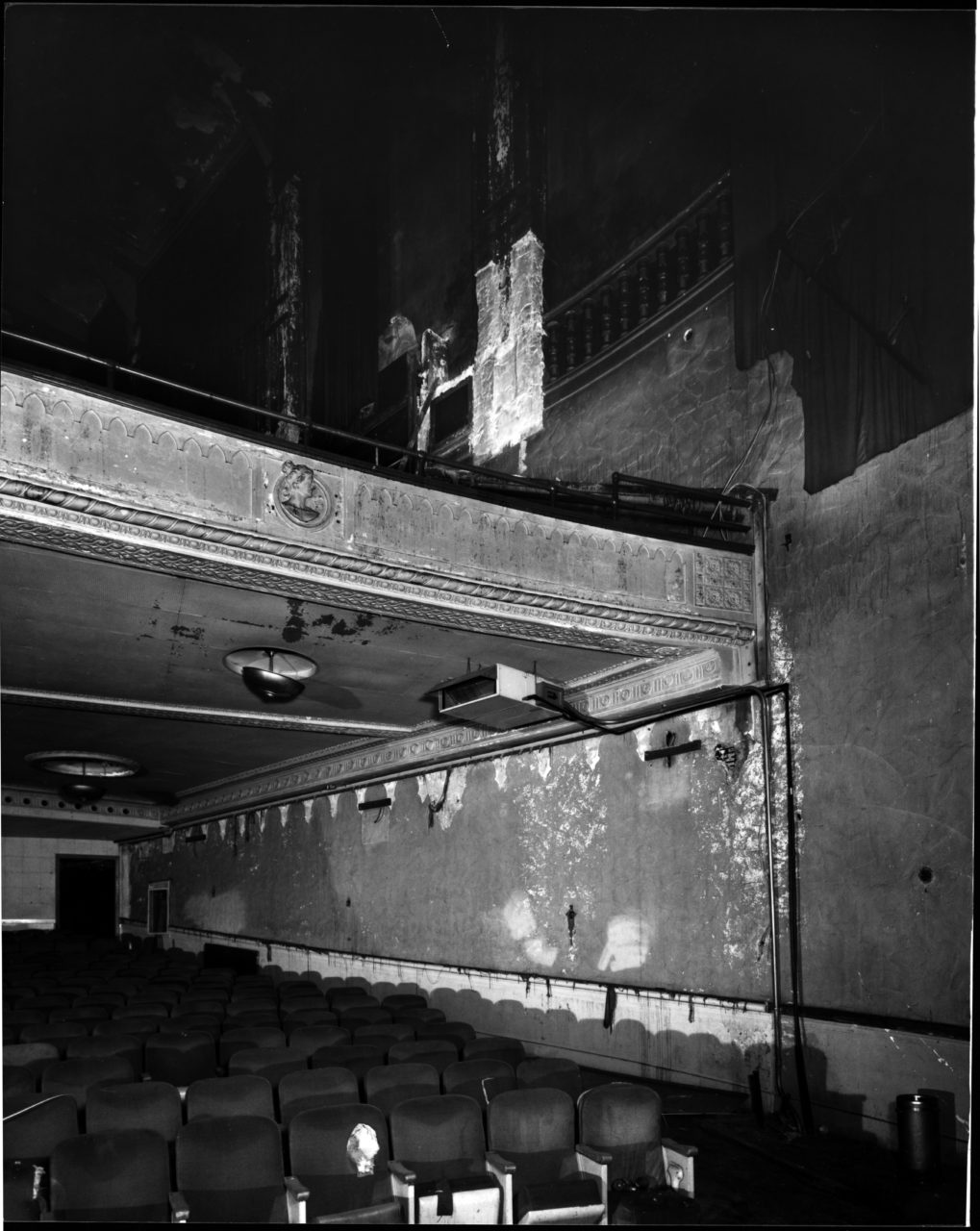Orchestra seating after 1978 closing