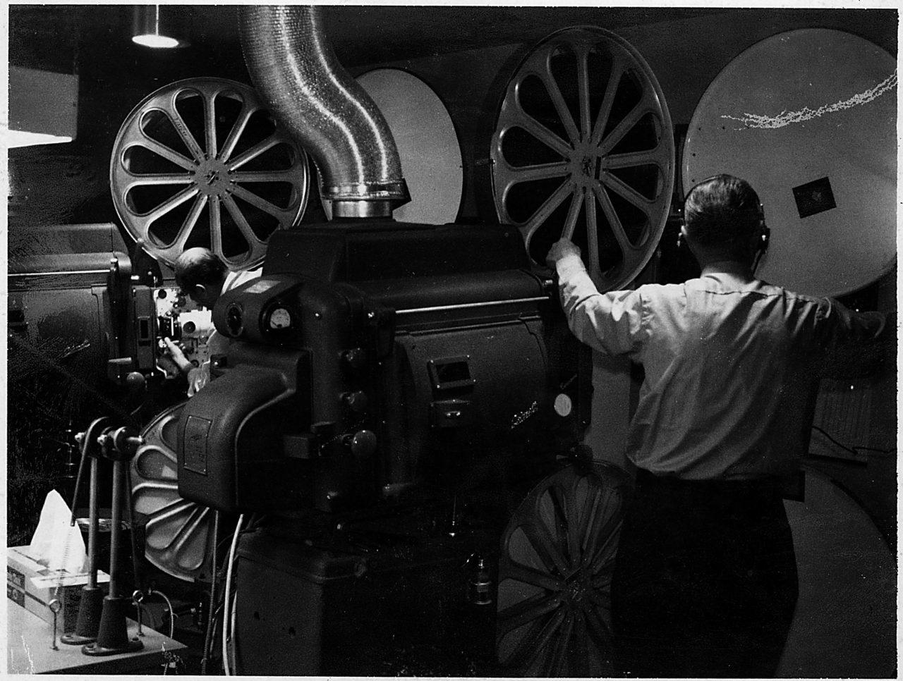Projection Equipment - c. 1963