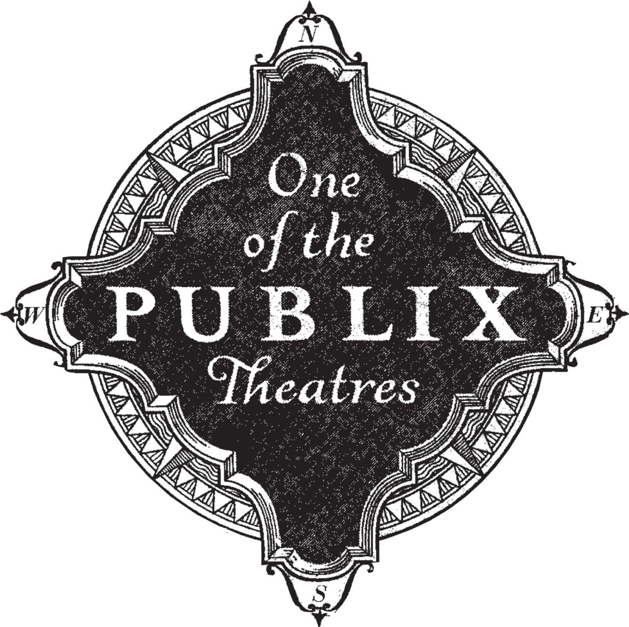 Publix logo - Carolina Theatre was part of the Publix Theatres chain