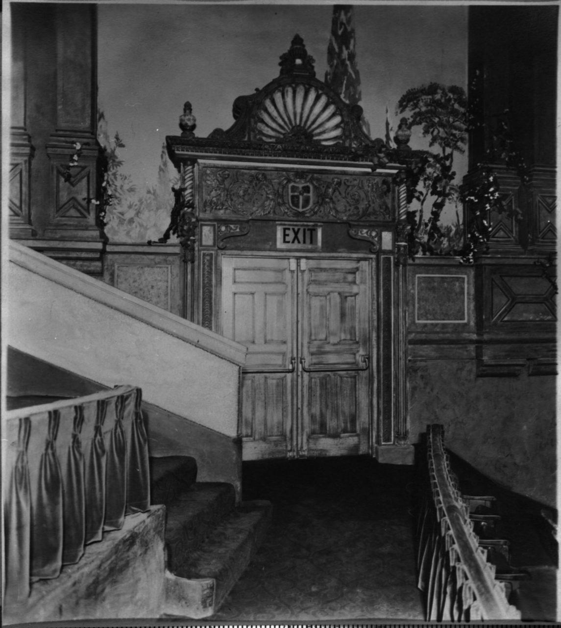Balcony Exit - c. 1927